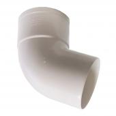 Отвод трубы 45⁰ водосточной системы MUROL ПВХ